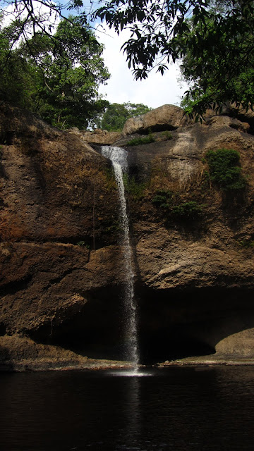 The waterfall made famous in The Beach.