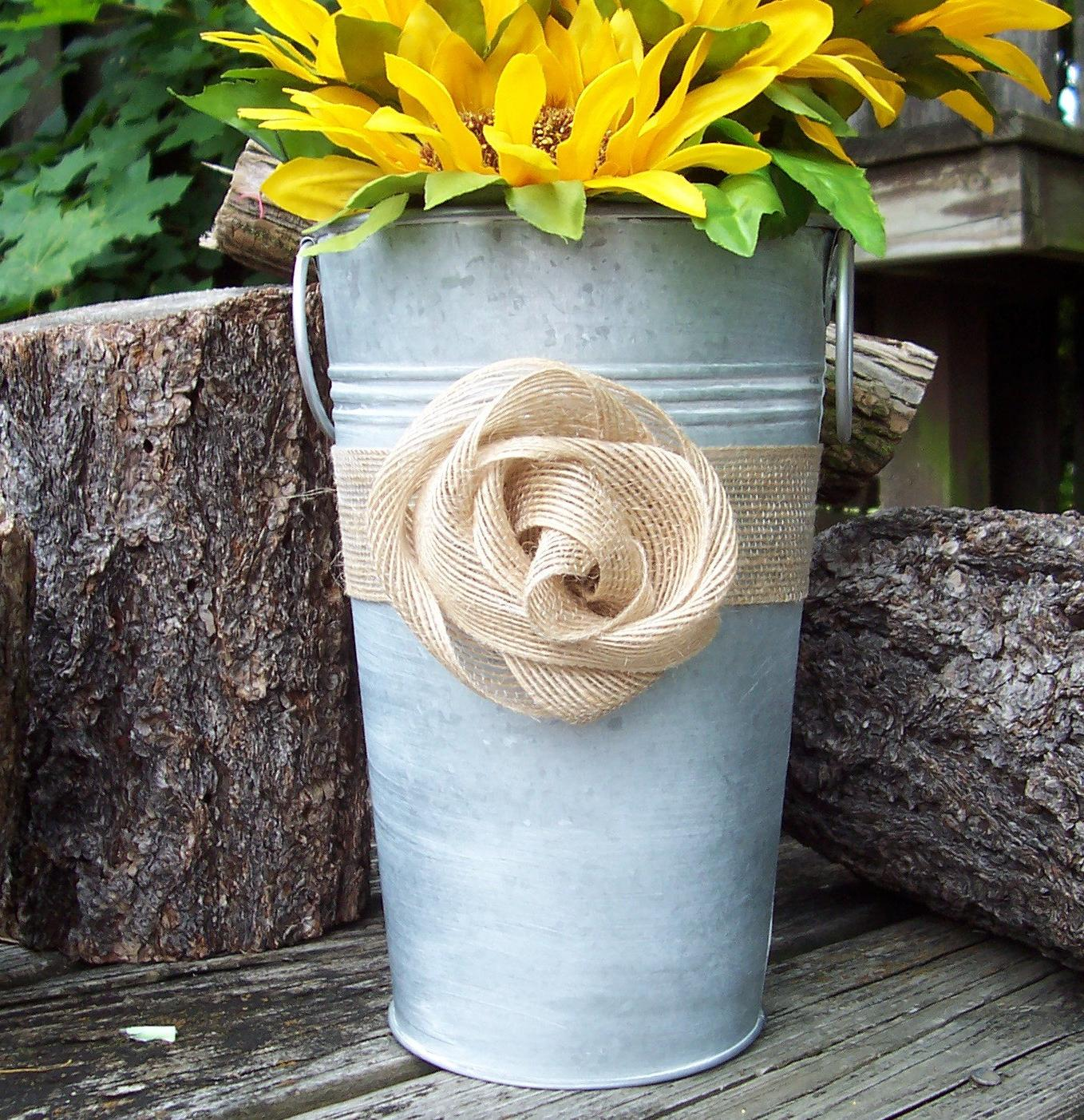 Galvanized Vase for your