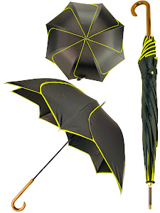 "Зонт трость ""Цветок"", желтый"