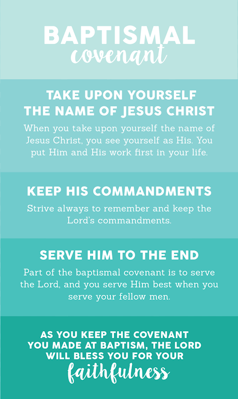 Baptismal Covenant Free Young Women Handout