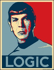 Mr. Spock logic Lógica