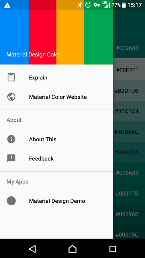 Material Design Color Screenshot 2