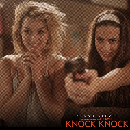 Ana De Armas and Lorenza Izzo in Knock Knock
