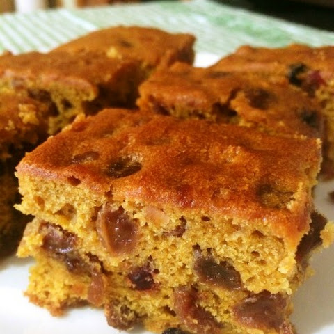 Pumpkin Fruit Cake