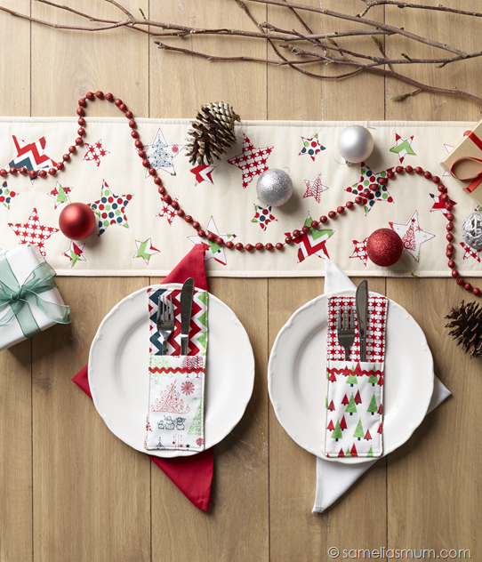 Anorina Pattern - Christmas Runner