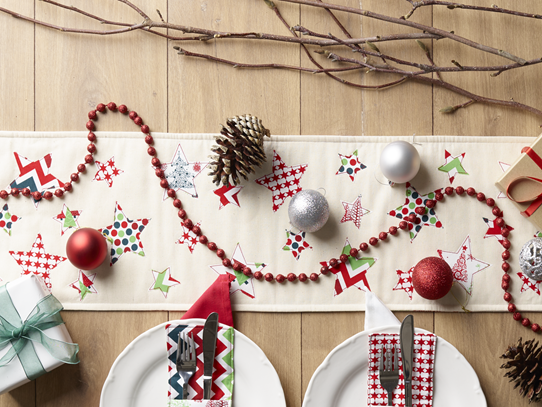 Oh Starry Night : Table Runner Tutorial {Handmade Christmas}