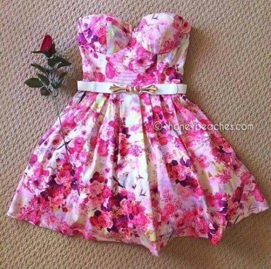 MODA Outfits Vestidos Floreados Como Llevarlos