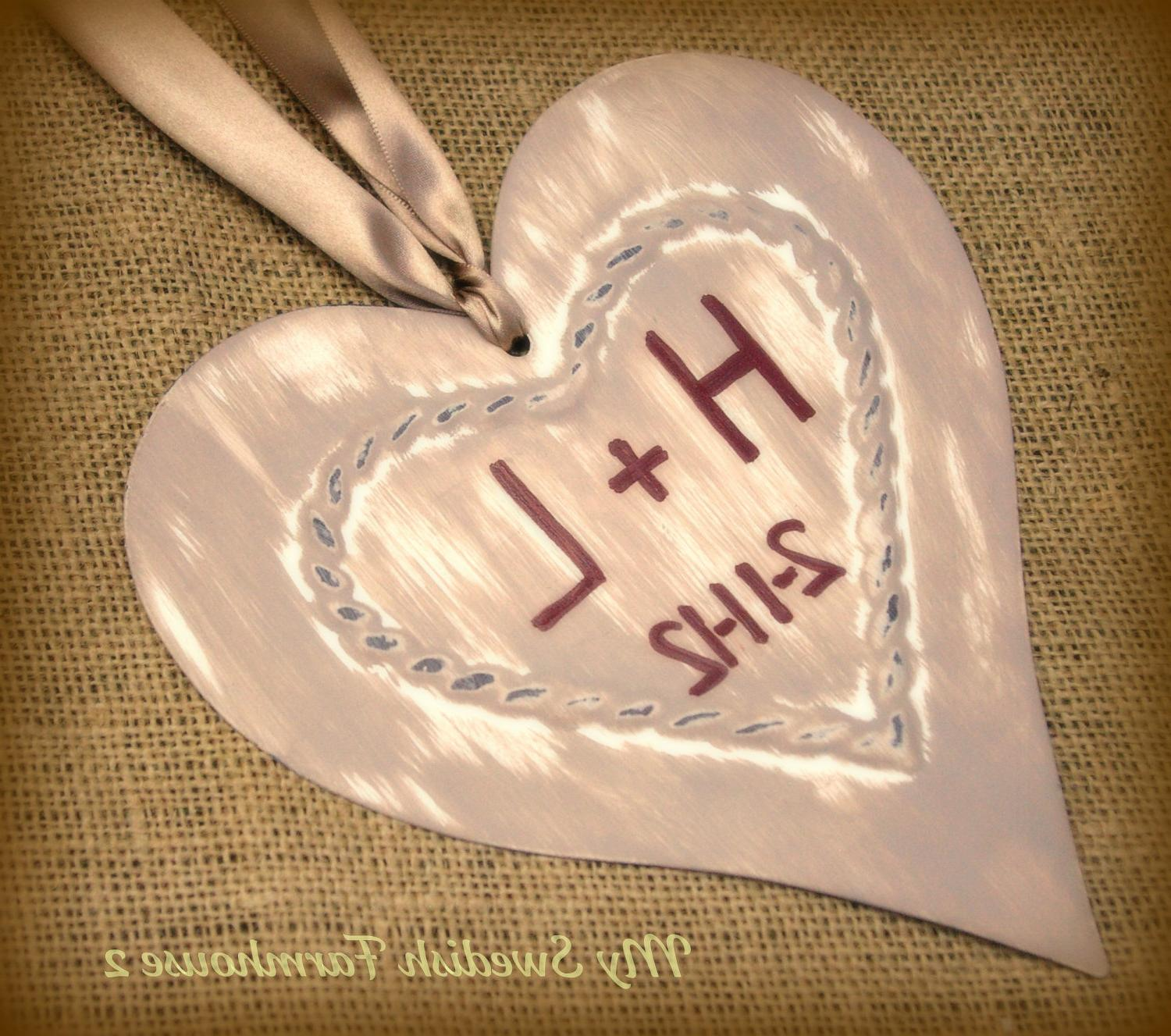 Heart Sign Photo Prop Decor