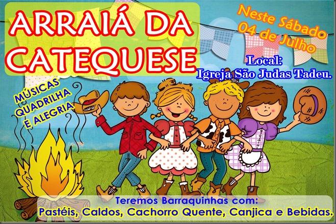 FESTA JUNINA - CATEQUESE DA IGREJA SÃO JUDAS TADEU - PATROCÍNIO-MG