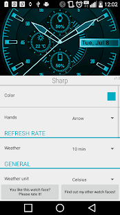 Sharp Watch Face- screenshot thumbnail