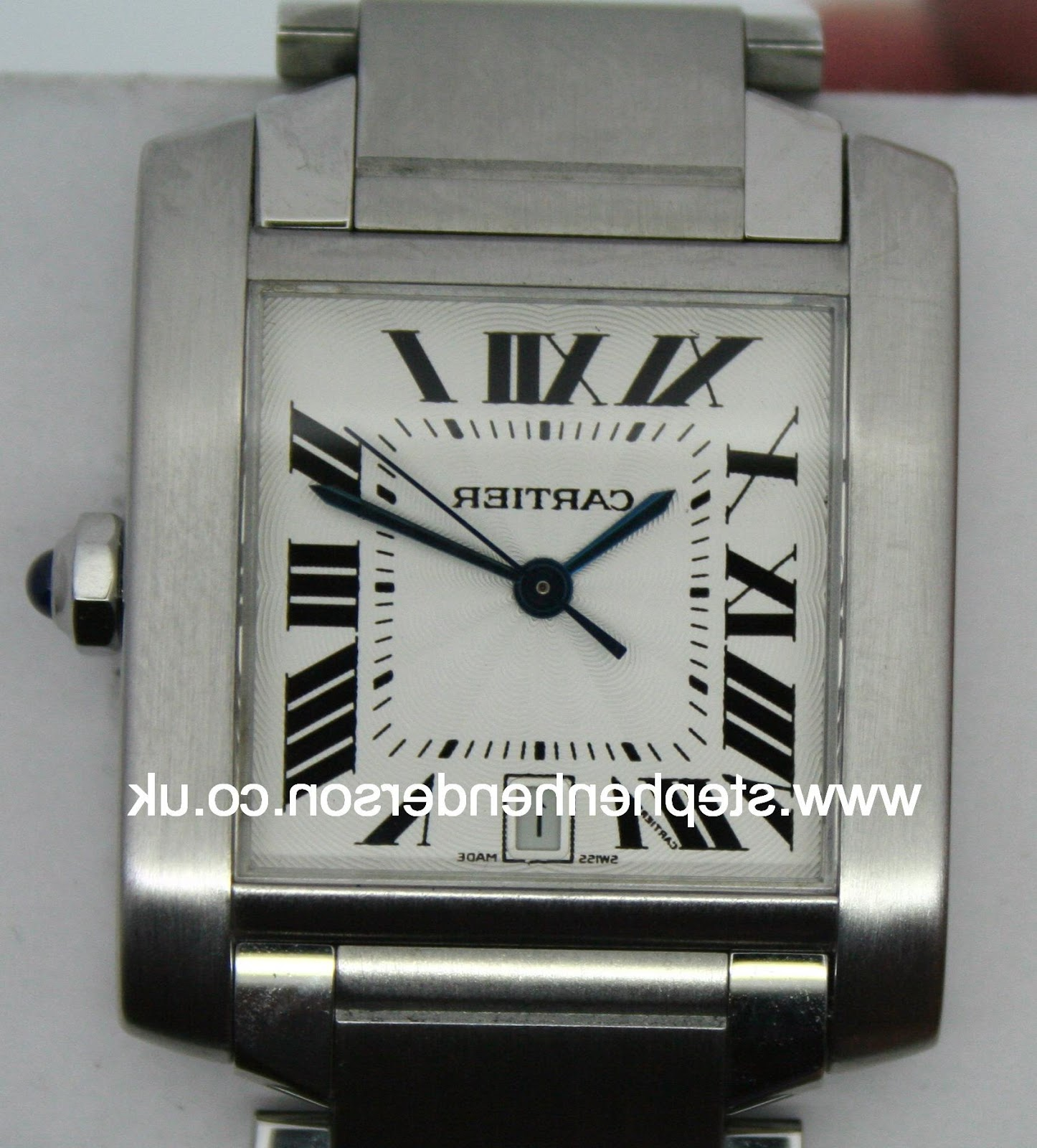 Cartier stainless steel Tank