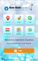 Screenshot of State Bank Anywhere