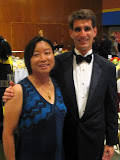 Mike and Maria at Villanova's Mendel Award Dinner