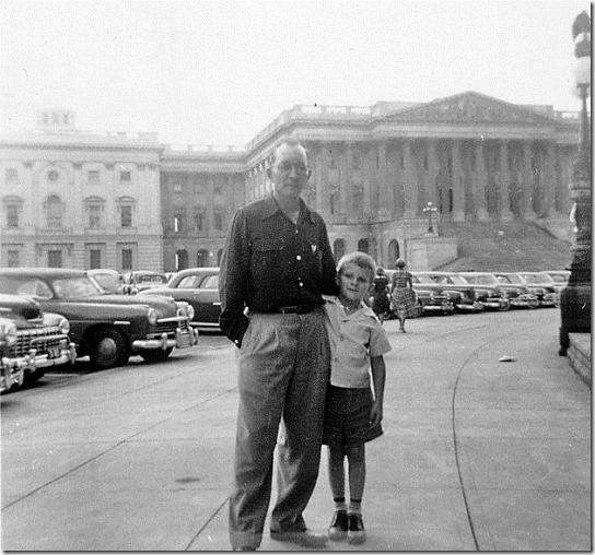 Charles and John Flora in Washington, D.C., summer 1951.