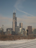 The Chicago skyline seen from the Amtrak window 01142012e