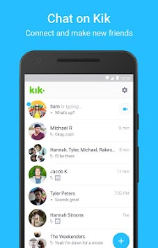 Kik APK screenshot thumbnail 1