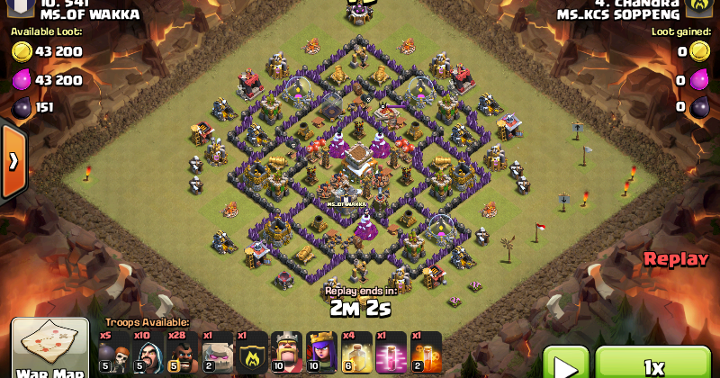 Base war th 8 terbaru maret 2016 android soft