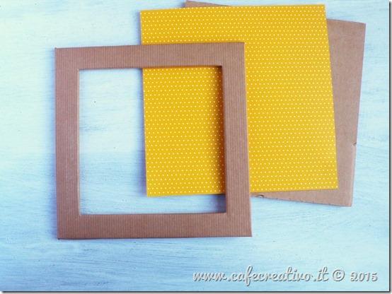 come fare cornice cartone e carta - tutorial by cafecreativo (7)