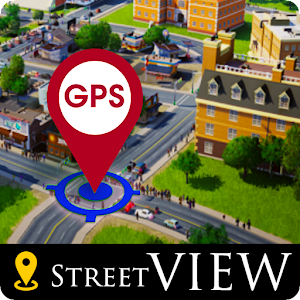 GPS Street View Earth Maps Navigation Route Finder