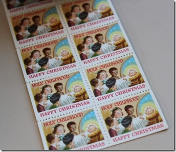 Holy Childhood stamps
