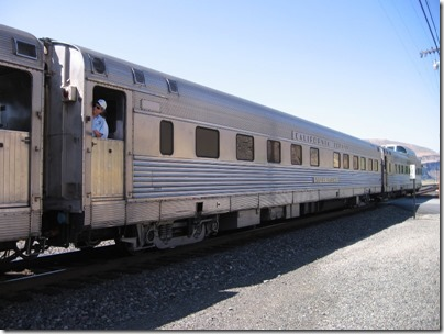 IMG_7747 Pennsylvania Railroad 'California Zephyr' Sleeper 'Silver Rapids' in Wishram, Washington on July 3, 2009