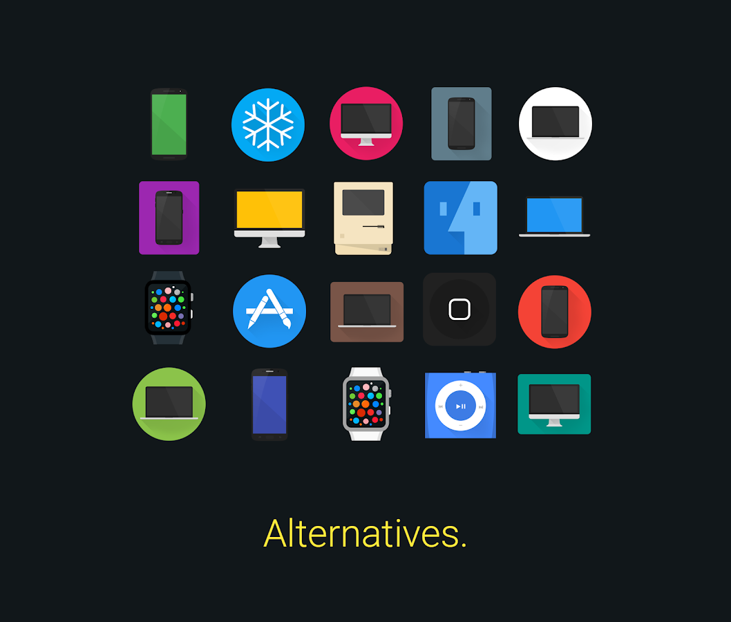 Glim - Icon Pack Screenshot 1