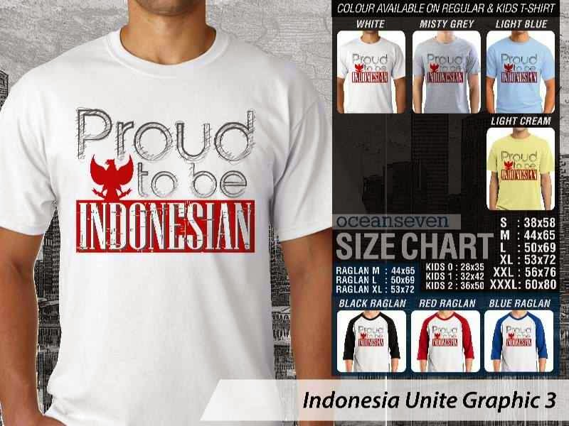 KAOS Indonesia Unite Graphic 3   KAOS Desain Proud to Be Indonesian garuda distro ocean seven