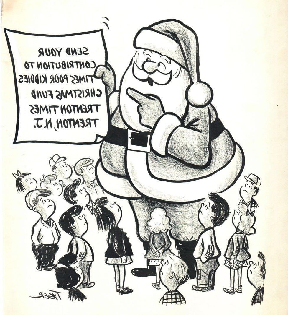 sizeA Frank Tyger cartoon