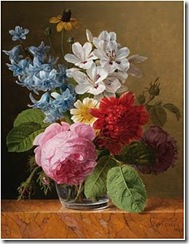 Jan_Frans_van_Dael_-_Flower_bouquet_in_a_glass
