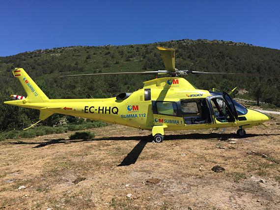 Muchas gracias al Summa 112, a su helicóptero, al personal sanitario, pilotos, y a todas las personas que participaron en el rescate
