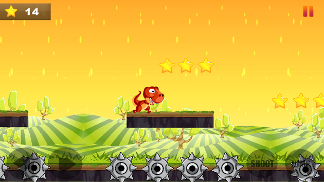 Baby Dino Run apk screenshot