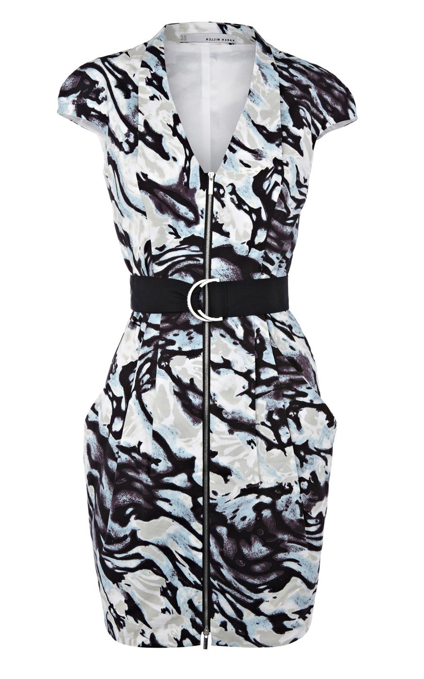 Karen Millen Zebra Print Dress