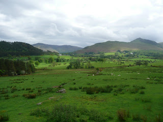 Catbells across the fields!