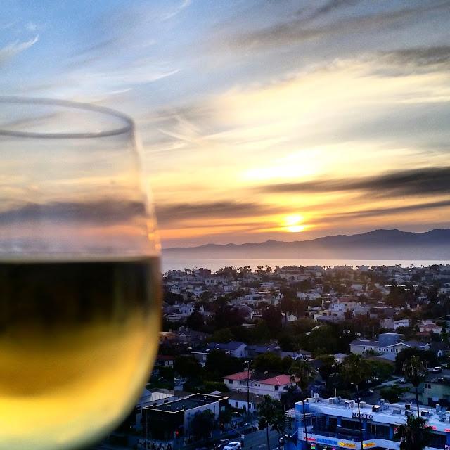 Marina del Rey, CA sunset