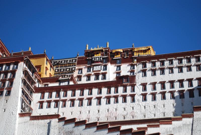 Le Potala, ancien siège du pouvoir tibétain