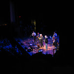 Ricky Skaggs and Barry Gibb singing at the Ryman Auditorium in Nashville TN 07262012-05