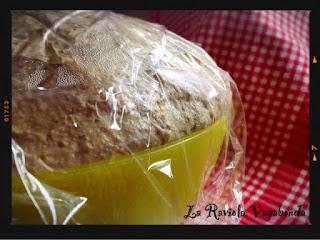 pane casereccio semi integrale con pasta madre (metodo bonci)