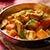Kokosowe curry z kurczakiem, dynią i oberżynami