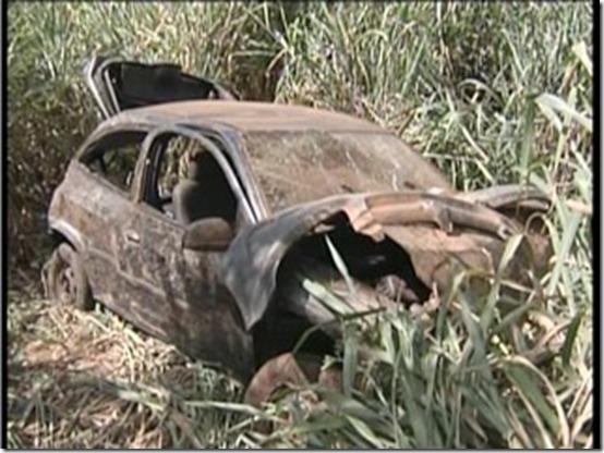 Cinco pessoas da mesma família ficam feridas em acidente na BR-381