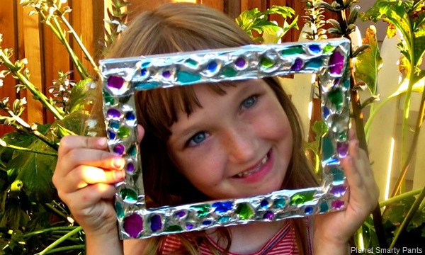 Gifts by Kids: An Embissed Picture Frame