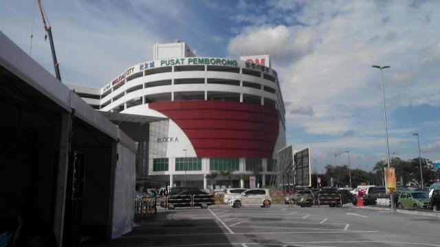 Perkarangan pusat borong GM Klang