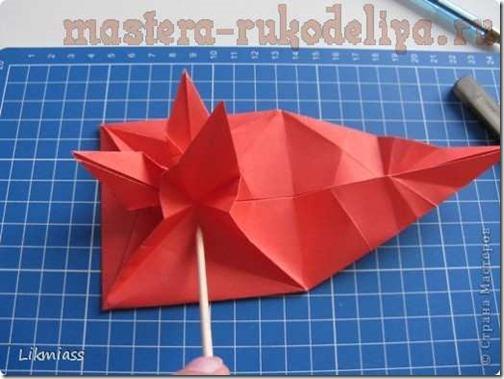 flor de pascua origami (25)