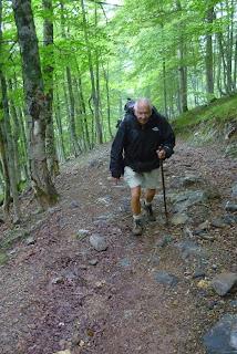 Jean Charles: La randonnée, c'est bien, mais pas à trop forte dose