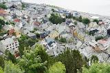 Uitzicht op Alesund.