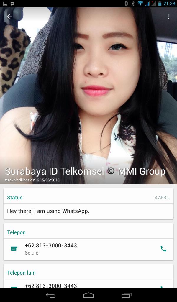 Jual Nomer Handphone Nomer Seluler Cewek Cantik Selfie Mobil
