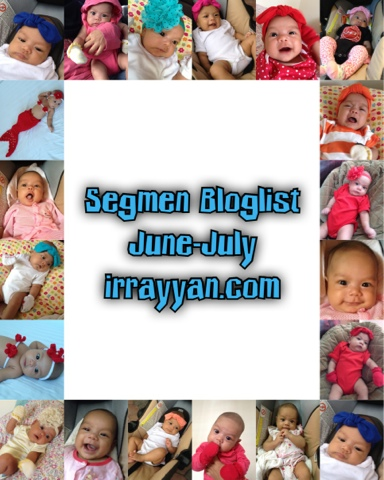 Segmen Bloglist June-July irrayyan.com