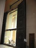 The huge doors inside the Parthenon replica in Nashville TN 09032011