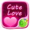 Cute Love GO Keyboard Theme 3.87 Apk