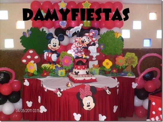 fiesta cumpleaños minnie decoracion (15)