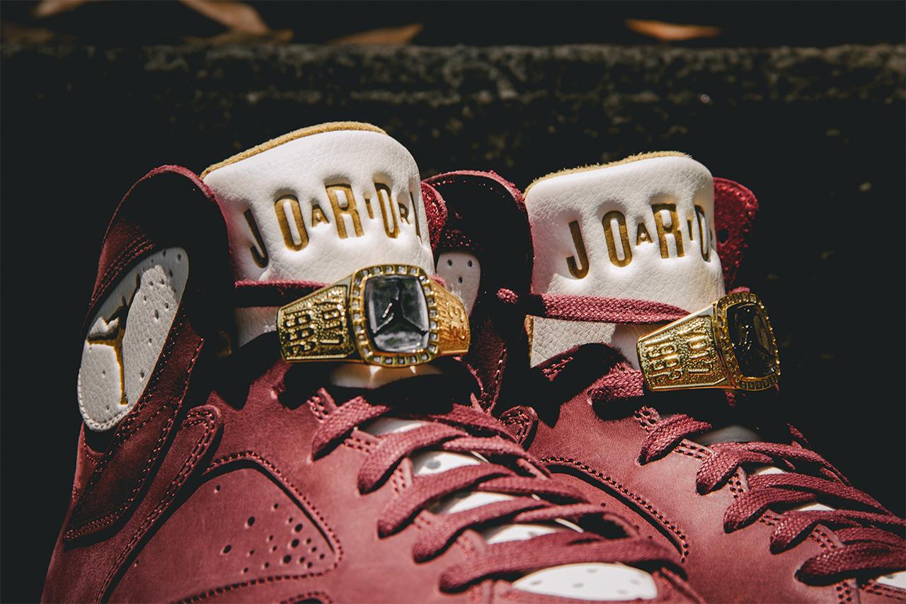 air jordan retro 6 maroon champs shoes